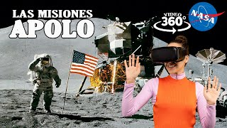 Las Misiones Apolo de la NASA en la Luna en 360 grados