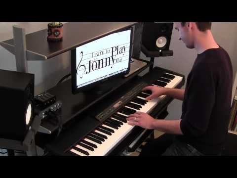 Disney Piano Medley - by Disney Pianist Jonny May