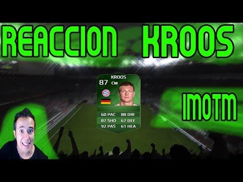 FIFA UT 14 | Reacción KROOS iMOTM