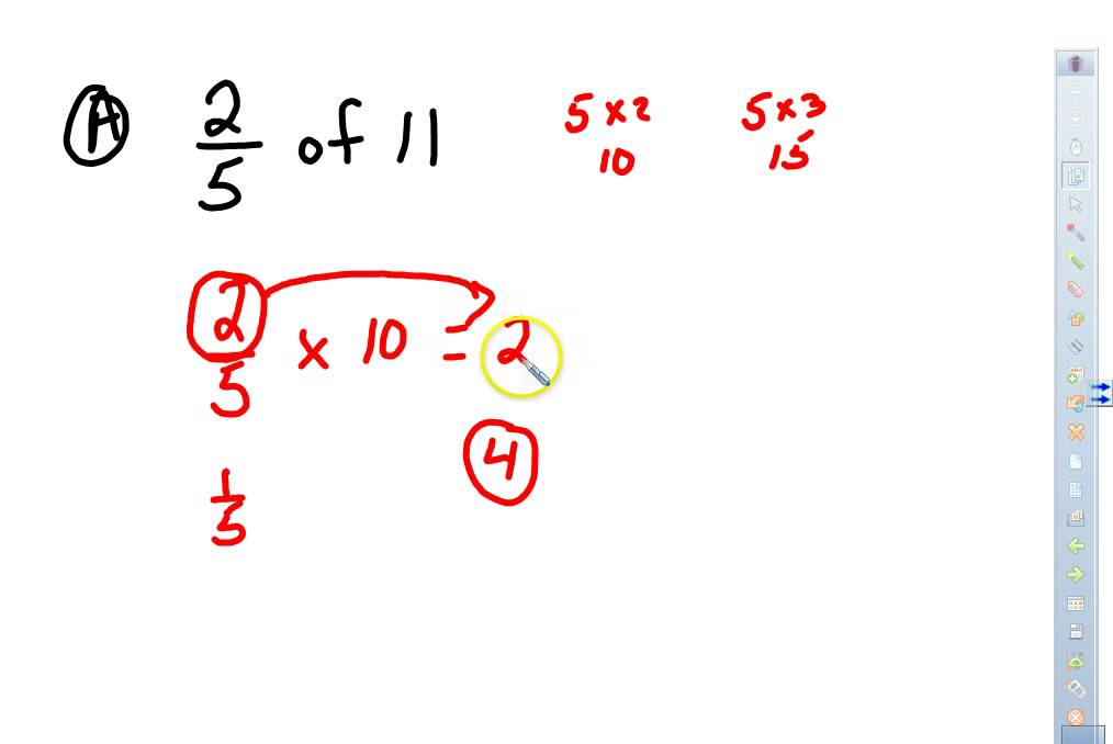 Topic 11 Multiplying Dividing Fractions And Mixed Numbers