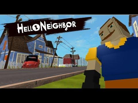 Roblox Hello Neighbor Act 1 Trailer Youtube