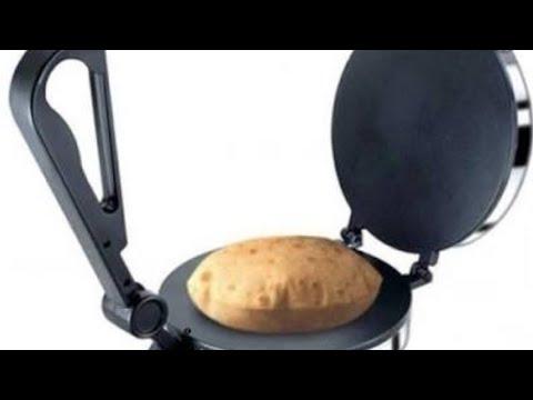 How to make roti in roti maker in hindi | chapati maker | tortilla maker