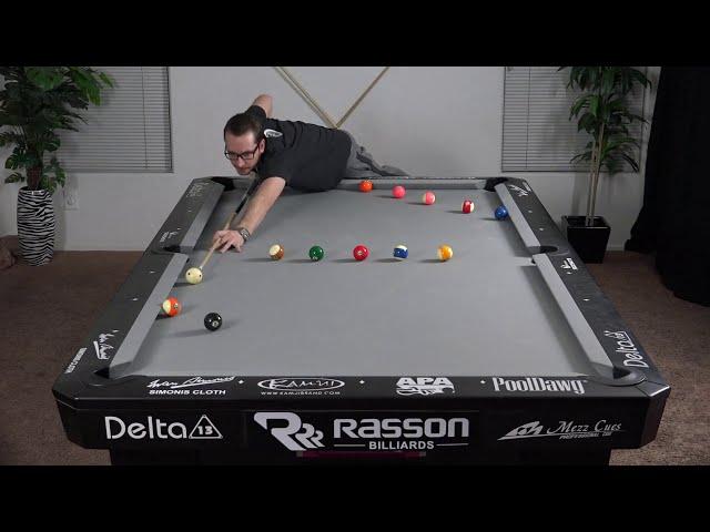 Billiards Drill #21: The clean 15 - Venom Trickshots