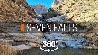 Семь водопадов   Штат Аризона   360 видео
