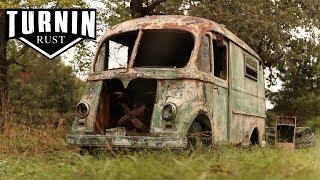1960 International Metro Van Rescued After 30 Years! | Turnin Rust