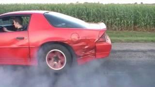 1989 Camaro RS Burnout