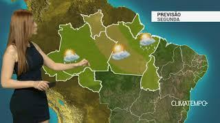 Previsão Norte – Predomínio de ar quente e úmido