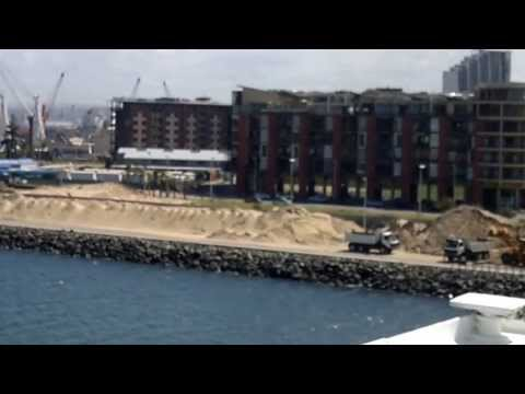 entrance to the port of Durban 19/3/2013