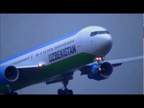 new UZBEKISTAN AIRWAYS 767-300ER Touch-n-Go!