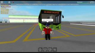 Roblox (en anglais) Go-Ahead Singapore Service 382W (Punggol temp int-Sumang Link) (Loop) (Bus:BYD K9) (Partie 2)