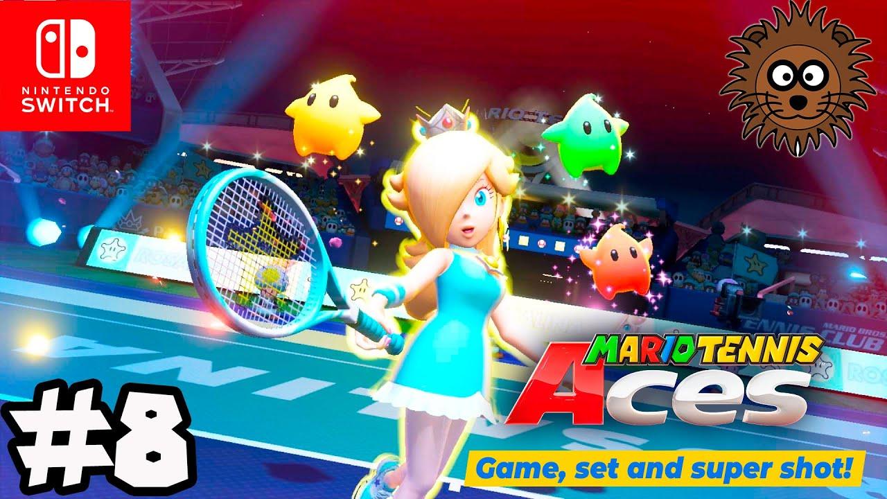 MARIO TENNIS ACES Modo Historia - Nintendo Switch Gameplay en Español #8
