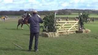 Worcs Hunt Gate Jumping 2014
