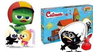 CALIMERO PULCINO TUTTO NERO, giochi per bambini, Unicoplus costruzioni, IL SALOTTO DI CALIMERO!