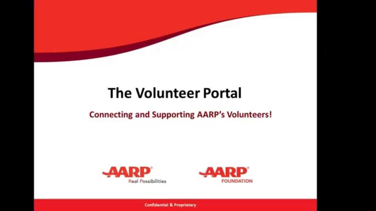 aarp volunteer portal login The New Volunteer Portal - YouTube