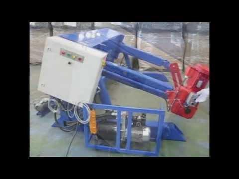 видео: Станок для перемотки кабеля УНКГ- 22 - 5
