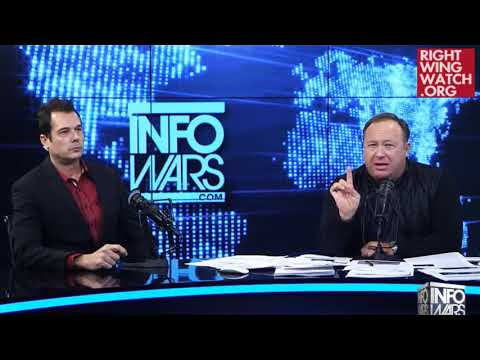 "RWW News: Alex Jones Says Texas Church Shooting Was ""Staged"""