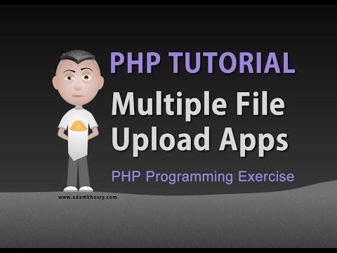 PHP Upload Multiple Files Array Programming Tutorial