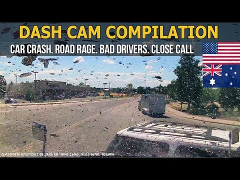 Dash Cam Compilation (USA & Australia) Car Crashes in America 2017 # 58
