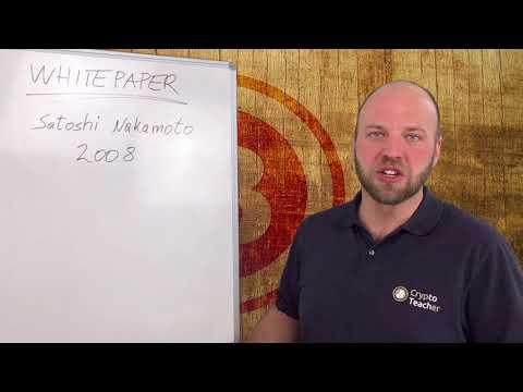 Was ist das Bitcoin Whitepaper? #Crypto Teacher