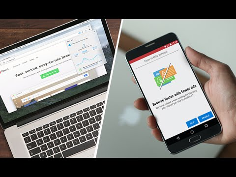 Opera browser and Opera Mini: built-in ad blocker | BROWSER FOR COMPUTER | OPERA