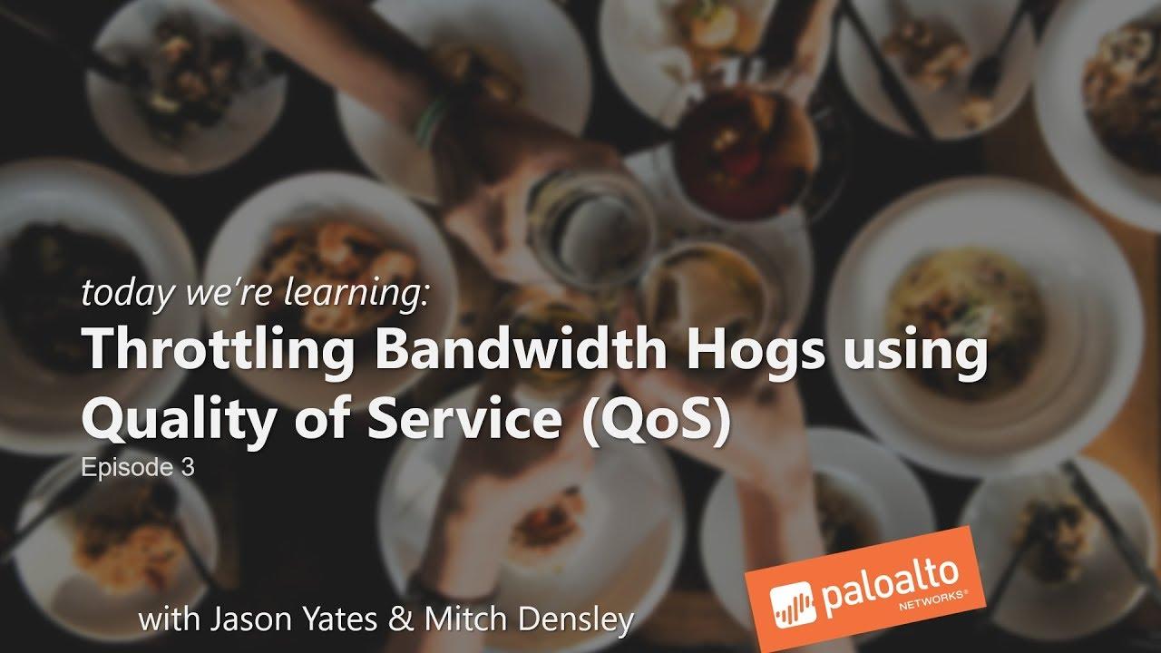 Throttle Bandwidth Hogs using QoS (Episode 3) Learning Happy Hour