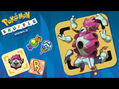 Pokémon Shuffle Mobile - COMPETICIÓN HOOPA DESATADO/UNBOUND. Not bad.