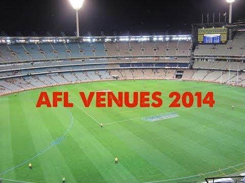 AFL Venues 2014