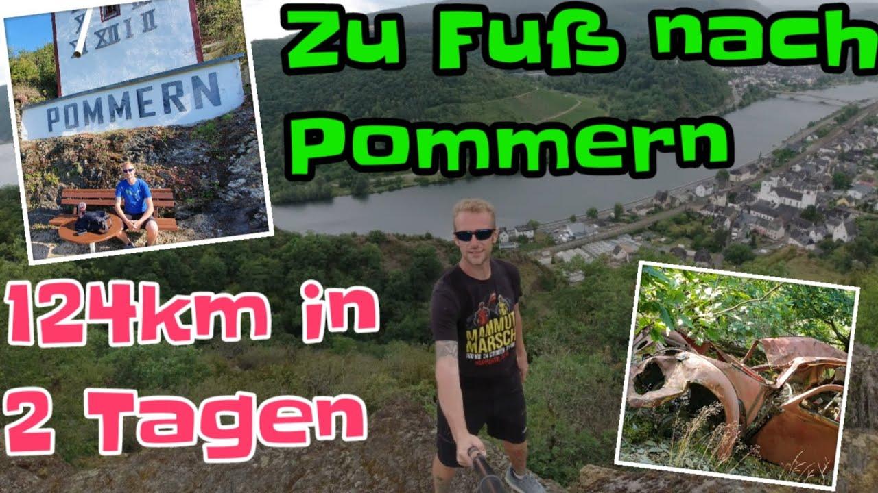 Zu Fuß nach Pommern an der Mosel mit Übernachtung im Wald | Gewinnspiel bis 20.7.20