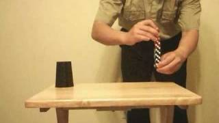 dice stacking tricks with royal flush 清一色立骰花招