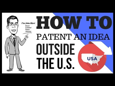 How To Patent an Idea Outside the US | Call The Patent Professor at 1-877-728-7763