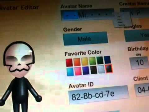 How to make a hacked mii name (Sd card required) by HackingKing3500vr