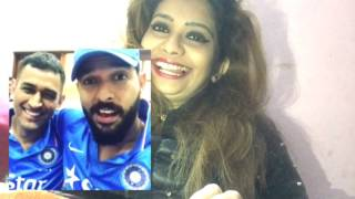 MS Dhoni And Yuvraj After Dhoni's Last March As Captain In Dressing Room | Reaction