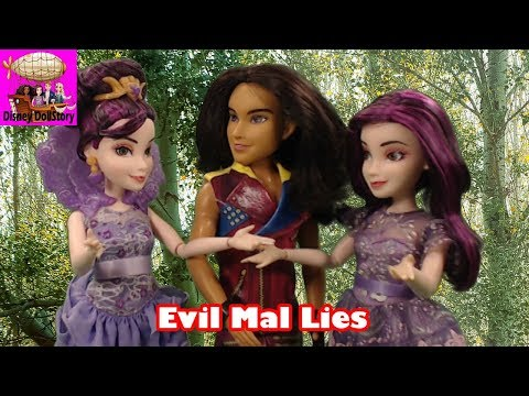 DESCENDANTS Evil Mal Lies - Part 9 - Mal is the Queen Descendants Disney