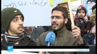 مئات آلاف الإيرانيين يحتفلون بذكرى الثورة الإسلامية وينددون بسياسة ترامب