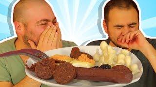 Kahvaltılıkları Kurutup Yedik - Yumurta, Peynir, Sucuk Nasıl Oldu?