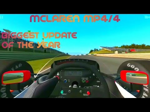 McLaren Mp4/4 Gameplay Teaser!!?! New Track - Real Racing 3