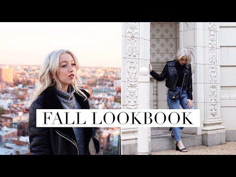 FALL OUTFITS LOOKBOOK 2017 | LilyLikecom