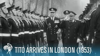 President Tito of Yugoslavia: State Visit To London (1953) | British Pathé thumbnail
