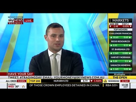 Michael Wayne on SKY News Business 18th October