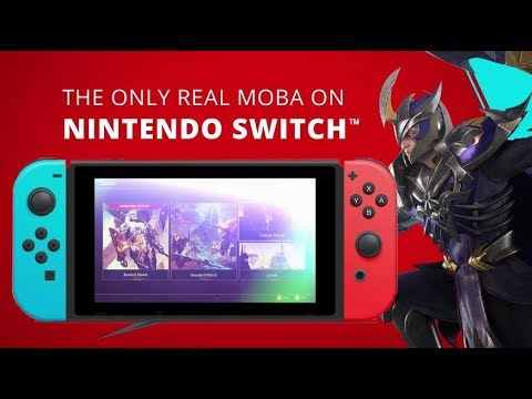 Arena of Valor on Nintendo Switch is the ideal MOBA for the