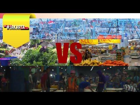 #JAKARTA - Nasib Pasar Tradisional di Era Modern