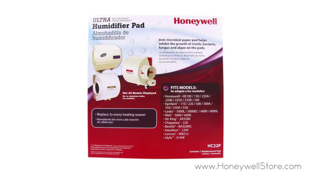 Honeywell Whole House Humidifier Pad Hc22p1001