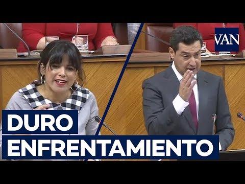 Duro rifirrafe entre Teresa Rodríguez y Moreno