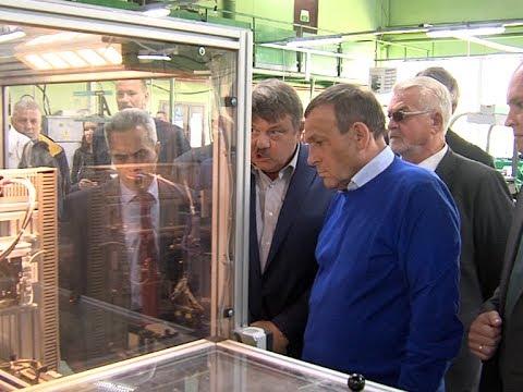 Врио главы Марий Эл  Евстифеев побывал на заводе «Потенциал»