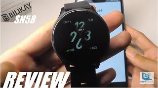 REVIEW: Bilikay SN58 Budget Smartwatch Fitness Tracker [$20]