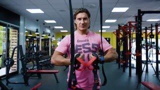 Петли TRX: комплекс упражнений для всего тела