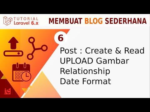 tutorial-laravel-6-[part-13]-upload---relationship---date-format-|-blog-sederhana