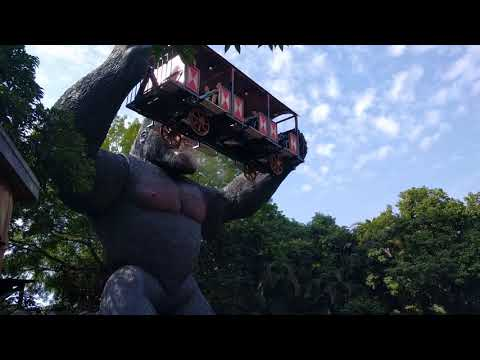 The King Kong ride at Window of the World in Shenzhen, China