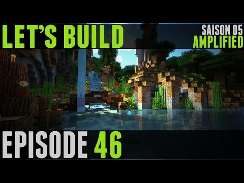 Minecraft - Let's Build V #46 - Pont & Stockage à Poissons