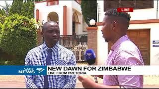 Zimbabweans in Pretoria reacting to Mugabe's resignation